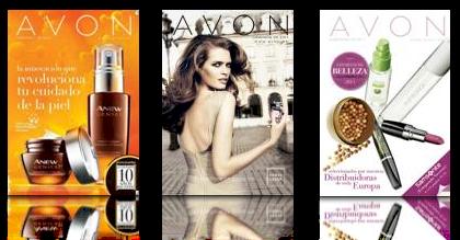 Catálogos campañas Avon productos